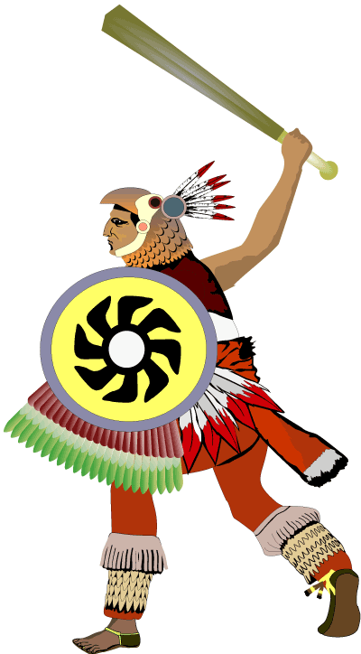 An Aztec Eagle Warrior