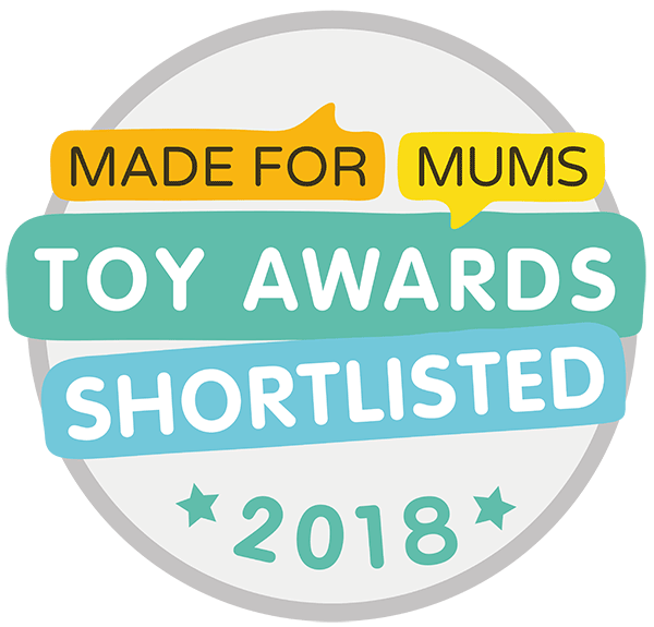 Made for Mums Toy Awards 20018 Shortlisted Logo