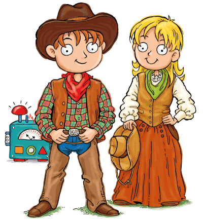 Wild West for Kids Max and Katie