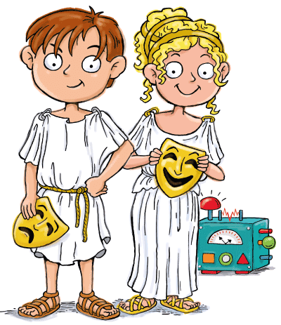 Max and Katie Ancient Greece for Kids