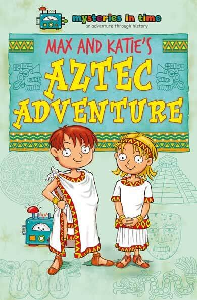 Aztec Empire History Fiction Book for Kids