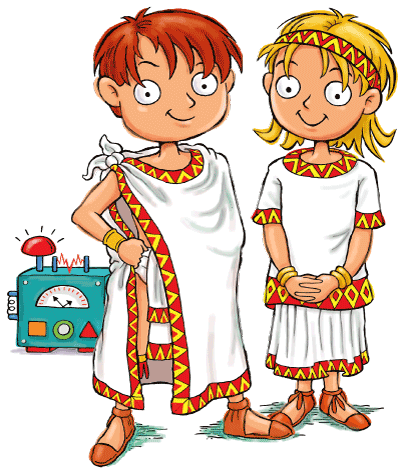 Max and Katie Aztec Empire for Kids