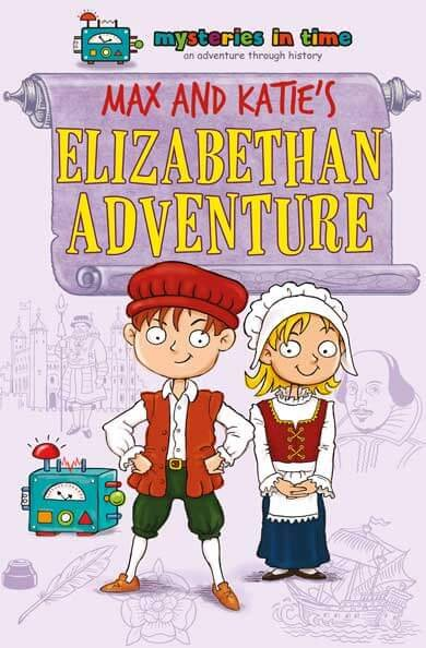 Elizabethan era history fiction book for kids