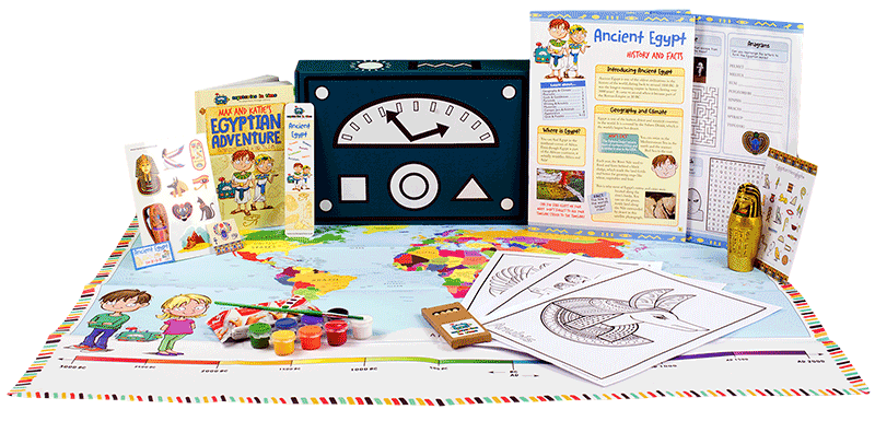 Subscription Box For Kids World History For Kids