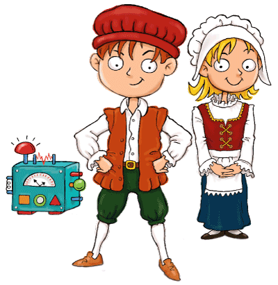 Max and Katie Elizabethan Era for Kids