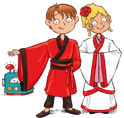 Ancient China for Kids Max and Katie