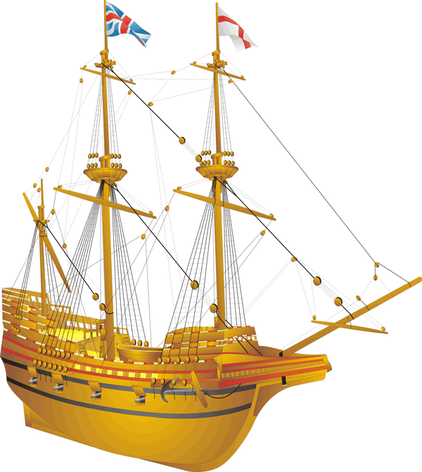 The Mayflower Galleon