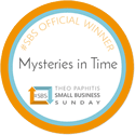 SBS Winner Badge Mysteries in time chosen by Theo Paphtis.png Badge logo