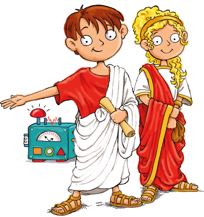 Max and Katie Ancient Rome for Kids