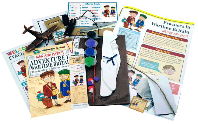 Evacuees for Kids Subscription Box