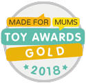 Made for Mums Toy Awards 2018 Gold Award 2018 Logo