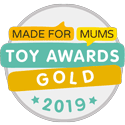 Made for Mums Toy Awards 2019 Gold Award Best Subscription Box Logo