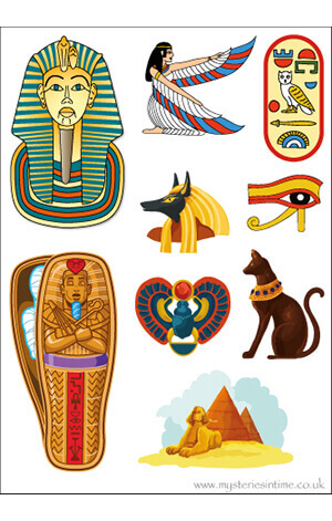 Ancient Egypt-themed sticker sheet.jpg