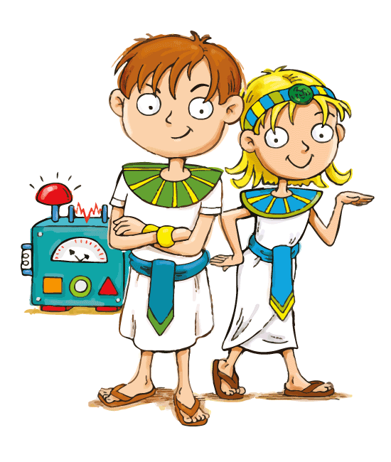 Max and Katie Ancient Egypt for Kids