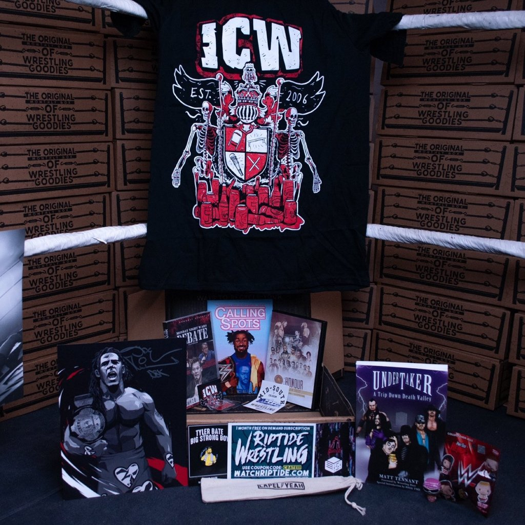 Wrestle Crate monthly wrestling  subscription box