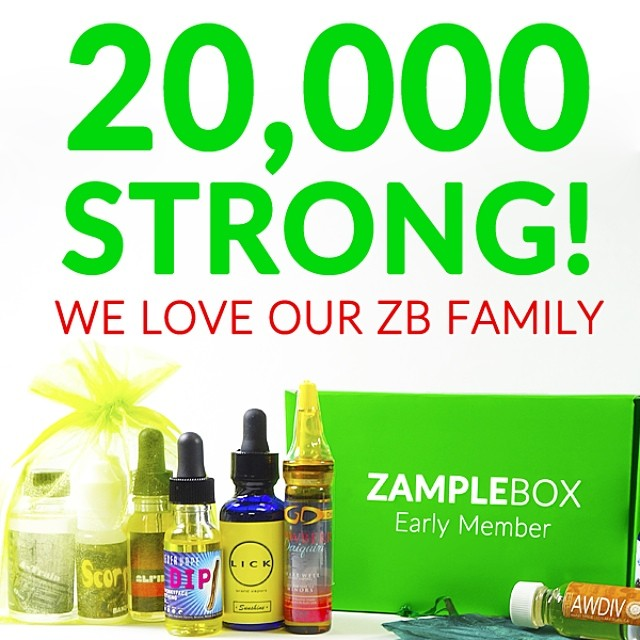 Our ZampleBox family of subscribers